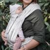 Limas Baby Carrier Valerie Linen porte bébé physiologique en coton bio