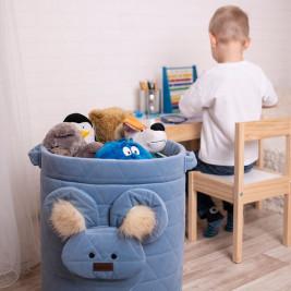 Kinder Hop Teddy panier de rangement bébé enfant