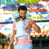 Infantino Flip Light and Airy 4 en 1 - Porte-bébé Évolutif