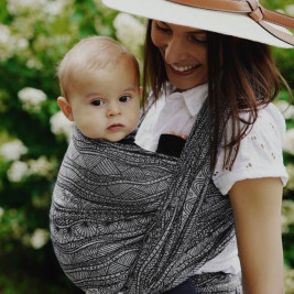 Little Frog Carbon Harmony baby wrap