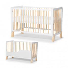 KinderKraft Lunky - Lit bébé évolutif en bois