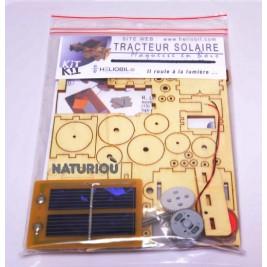 Maquette de tracteur solaire Héliobil