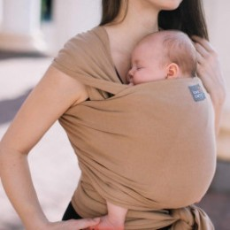 Love And Carry Almond - elastic Sling