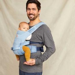 Ergobaby porte-bébé Aerloom Bleu Ciel Portage ventral
