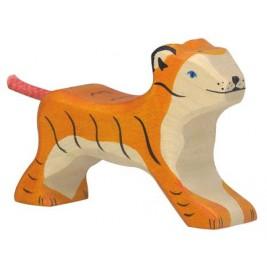 Petit tigre en bois Holztiger