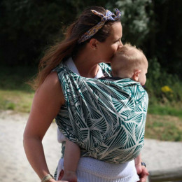 Yaro Slings Magnetic Contra Pine Natural Seacell - Ring Sling