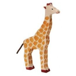 Girafe en bois Holztiger