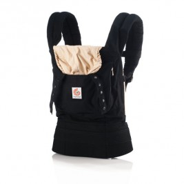 Ergobaby Baby carrier Original Black - Camel