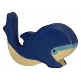 Petite Baleine bleue Holztiger