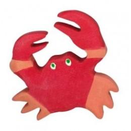 Crabe en bois Holztiger