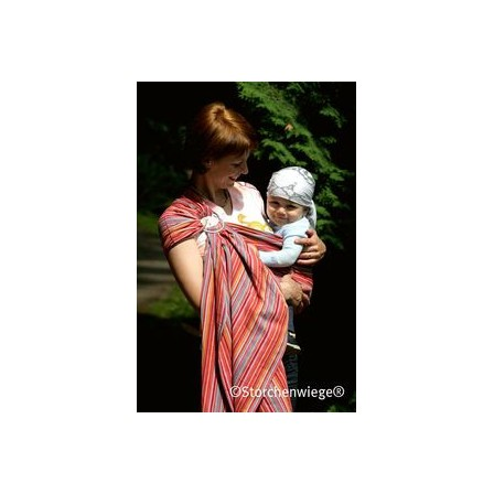 Echarpe porte-bébé  RingSling Lilly Storchenwiege