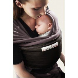 The original JPMBB Baby Wrap Glazed Brown, pocket Black Koffee