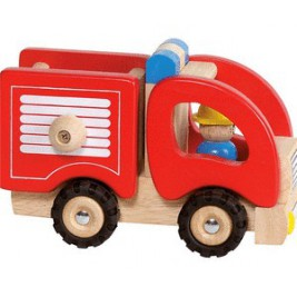 Fire truck wood by Goki