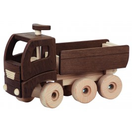 Grand camion benne bois Goki Nature