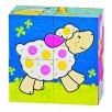 Puzzle de cubes, les amis de Susibelle mouton Suse