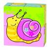 Puzzle de cubes, les amis de Susibelle animal escargot