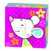 Puzzle de cubes, les amis de Susibelle animaux souris