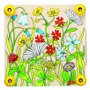 Presse-fleurs Prairie en bois par Goki