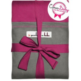 The original JPMBB Baby Wrap Fuchsia, pocket Elephant