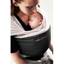 The original JPMBB Baby Wrap Ecru, pocket Black