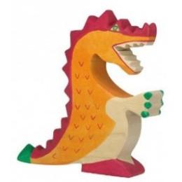 Grand dragon rouge Holztiger