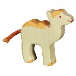 Bébé chameau en bois Holztiger