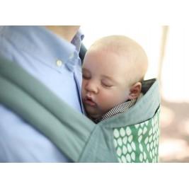 Boba 4G Verde - Porte-bébé Coton Bio