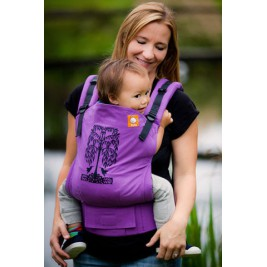 Porte-bébé TULA Toddler Hummingbirds purple