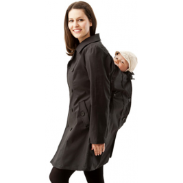 Trench Coat of portage and pregnancy Mamalila