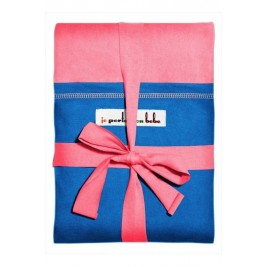 The original JPMBB Baby Wrap Pink pocket, Electric-blue