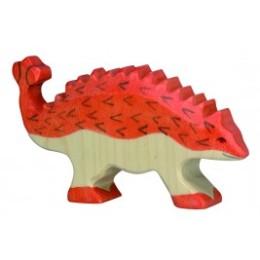 Ankylosaure dinosaure Holztiger