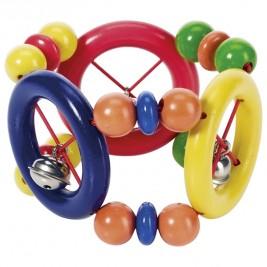Hochet flexible avec anneaux Heimess