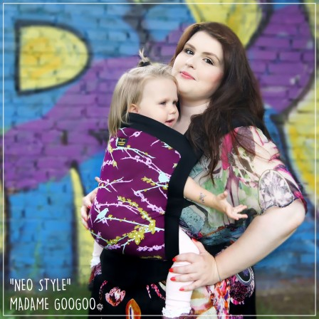 Porte-bébé Neo Print Babysize Madame Googoo