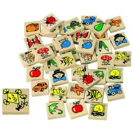 Game memory wood
