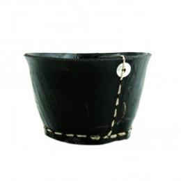 Pot moyen en pneu recyclé Tadé