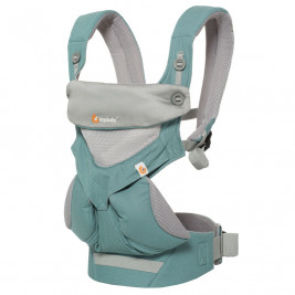 Ergobaby 360 Cool Air Mesh Menthe - Porte-bébé 4 Positions