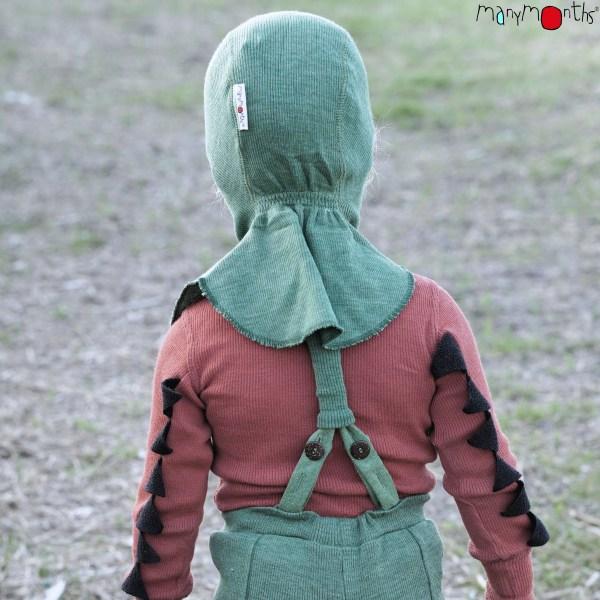 Enfant de dos cagoule manymonths